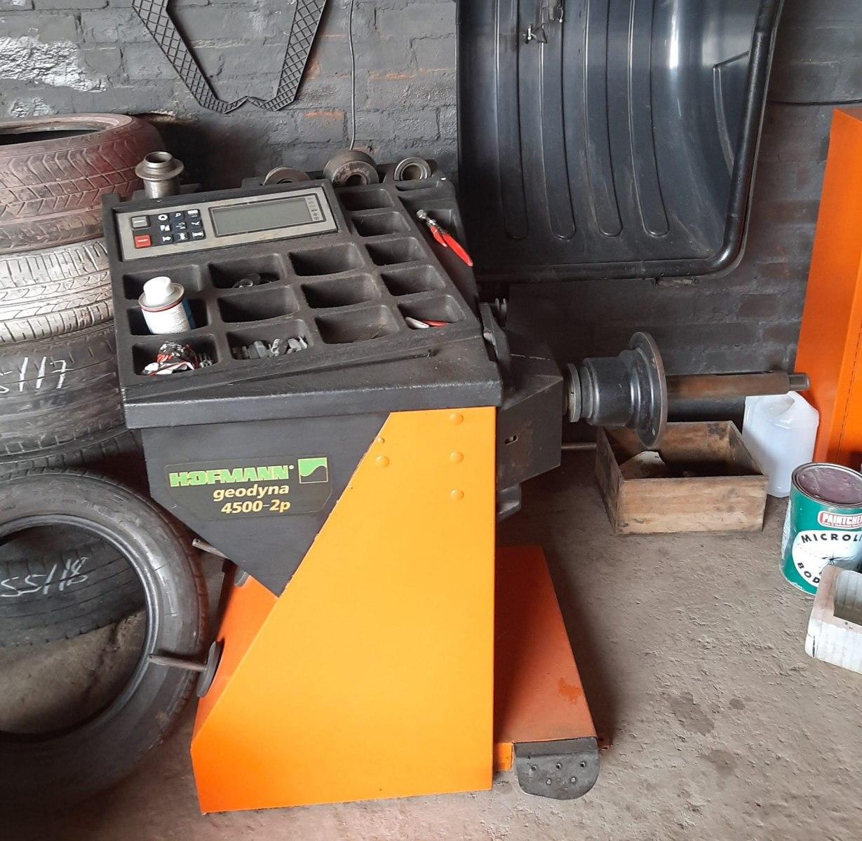 Off Car Tyre Balancing