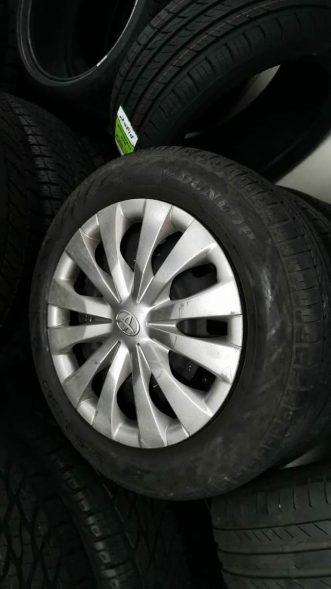 New Tyres Fitted